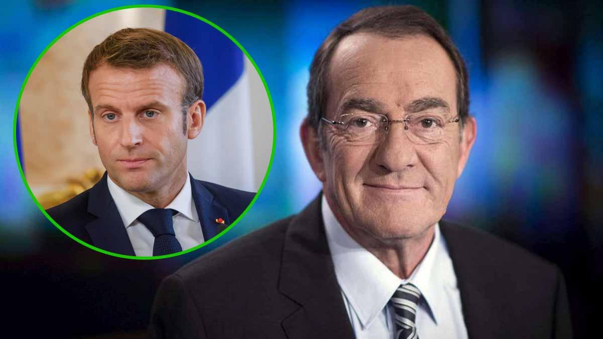 Jean-Pierre Pernaut : ce gros lapsus du journaliste au beau milieu de son JT qui ne va pas du tout plaire à Emmanuel Macron