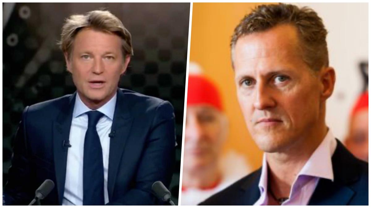 Laurent Delahousse : cette grosse gaffe du journaliste envers Michael Schumacher en direct de son JT !