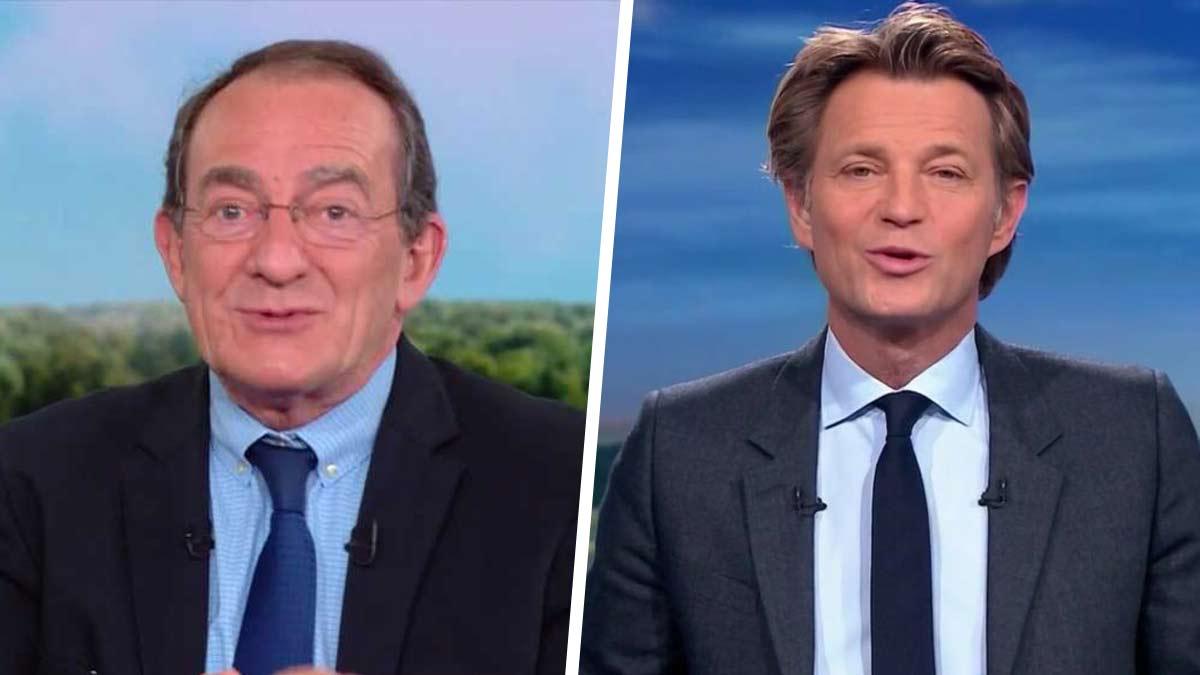 Cette réaction de Jean-Pierre Pernaut après le « clin d'œil amical » de Laurent Delahousse