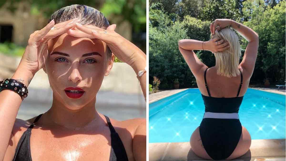 Kelly Vedovelli affole la Toile en laissant apercevoir un joli tatouage de sa partie intime