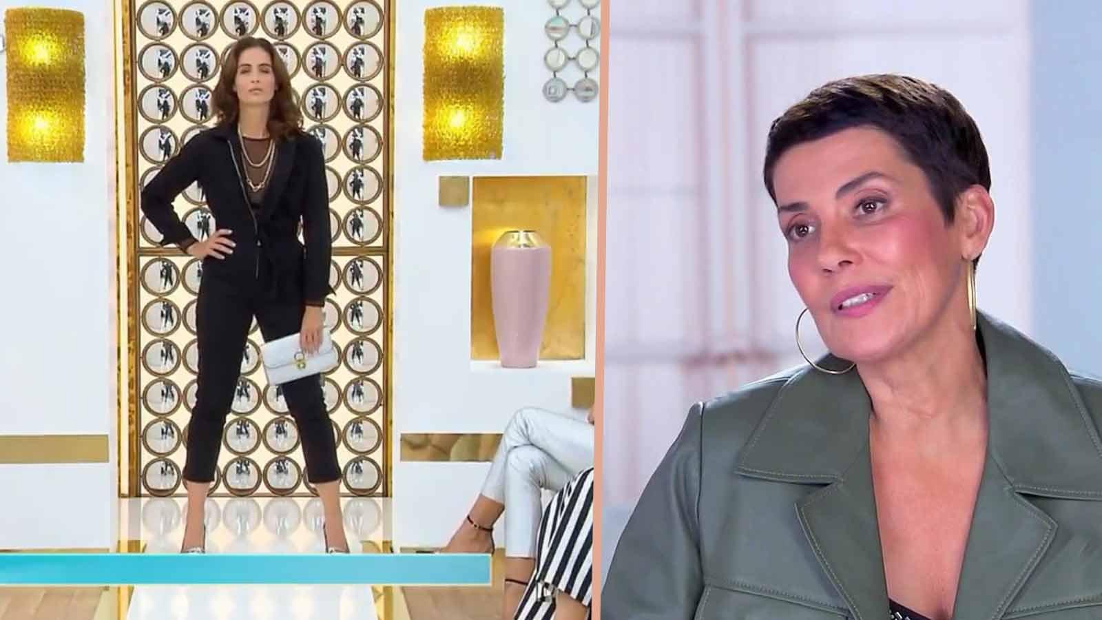 Les Reines du shopping : Cristina Cordula totalement ébahie par cette candidate qui a osé se déshabiller en plein défilé !