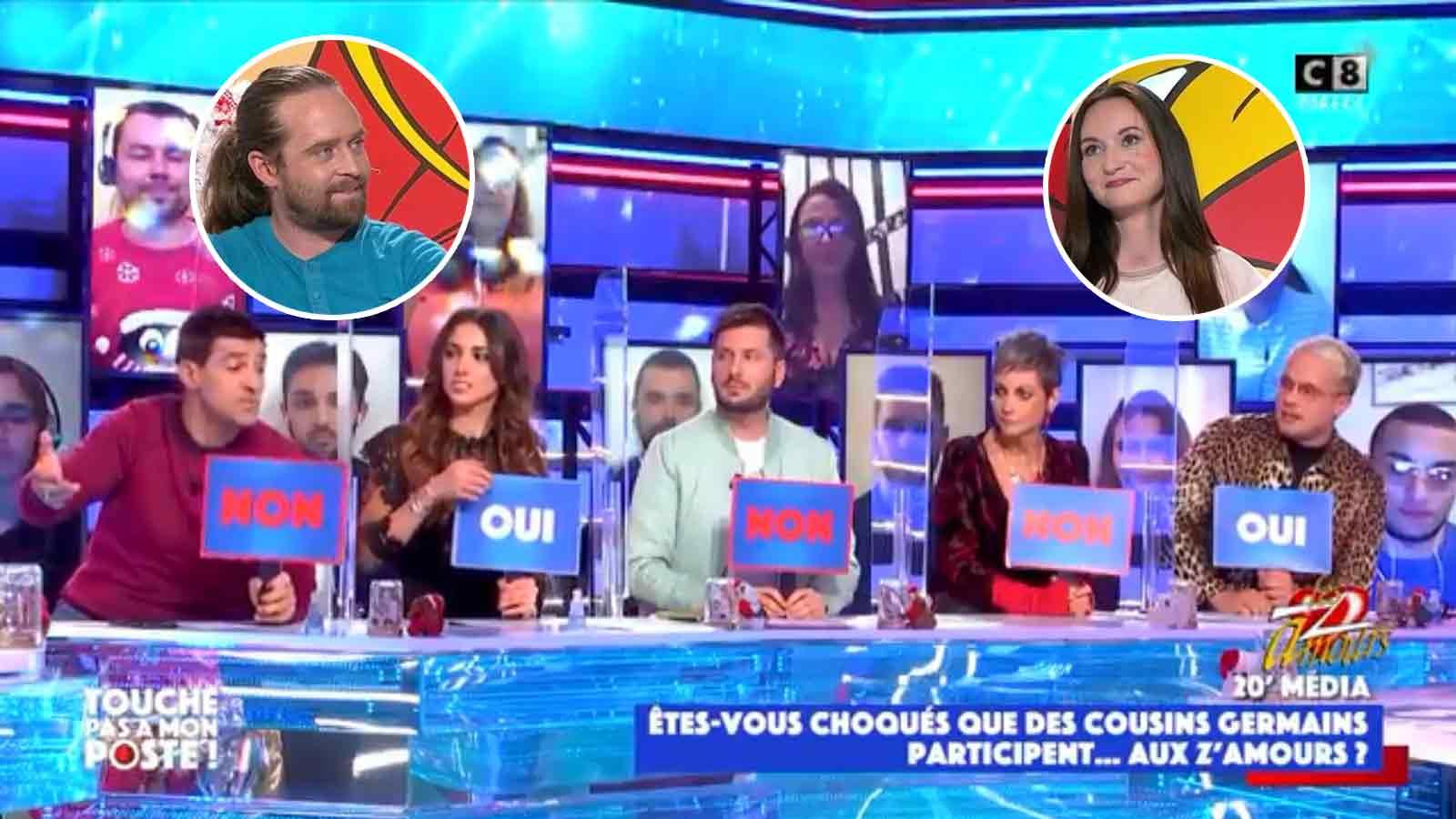 TPMP : le débat portant sur le couple consanguin des Z'amours fût houleux ! Les chroniqueurs divisés !