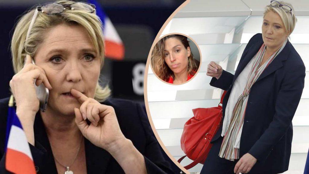 Cette nouvelle photo de Marine Le Pen provoque une grosse polémique !