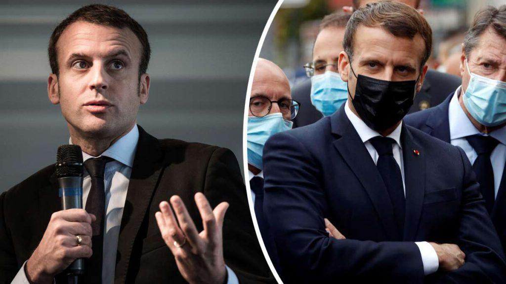 Emmanuel Macron se lâche complètement et tape violemment du poing sur la table !