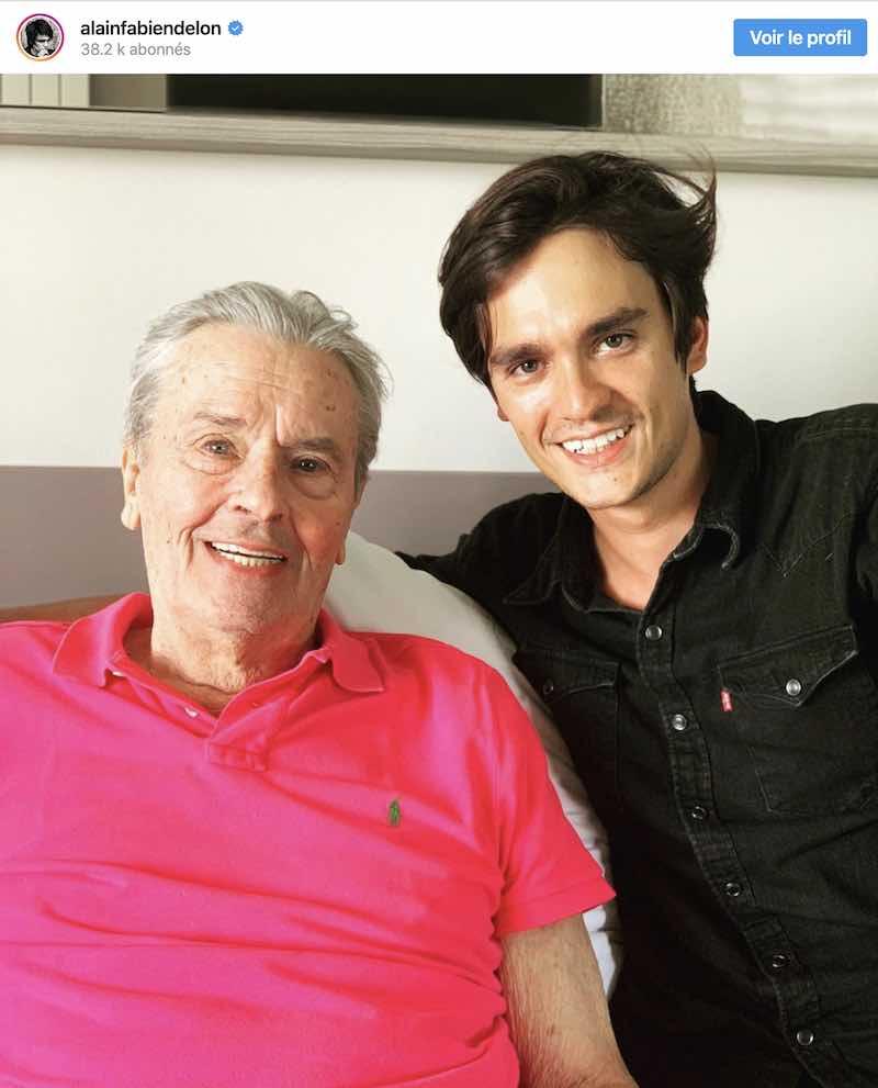 Alain Delon : son fils Alain-Fabien vient d'être arrêté par la police !