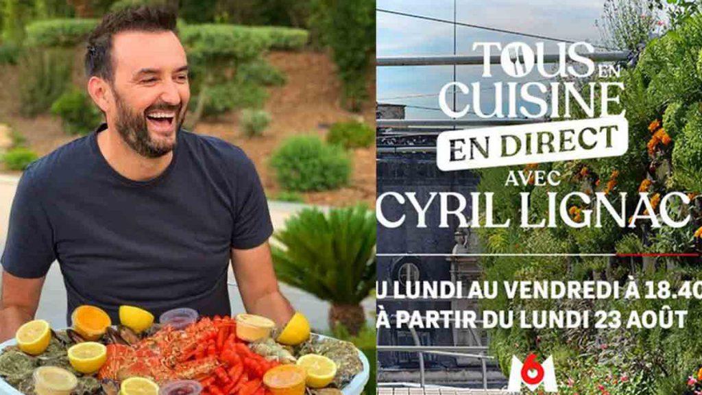 Cyril Lignac (Tous en cuisine) : une Miss France et un couple mythique de L'ADP au casting !